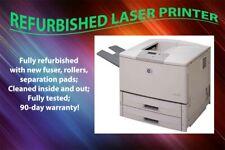 PRC Refurbished HP LaserJet 9050DN Laser Printer Q3723A 11X17 w/1yr Warranty