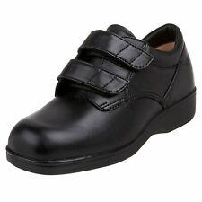 Aetrex Ambulator 1260 Women's Double Strap Black Walking Shoe