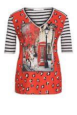 REDUZIERT!!! Blusen-Shirt, mehrfarbig, Marke: Oui, Größe 38, 40