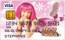 Stephanie - LazyTown Novelty Plastic Credit Card