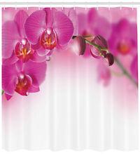 Spa Duschvorhang, Exotische Orchidee Feng Shui