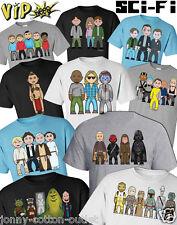 T-shirt Homme vipwees sci-fi film inspiré caricatures de choisir votre design