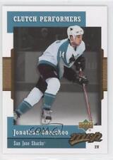 2006-07 Upper Deck MVP Clutch Performers #CP17 Jonathan Cheechoo San Jose Sharks