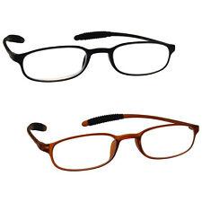 Black Brown Super Ligero Tr 90 Gafas de lectura 2 Pack uvr2pk041blk_041br
