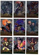 1995 Fleer Metal Flasher Marvel X-Men Flashers Card You Pick Finish Your Set
