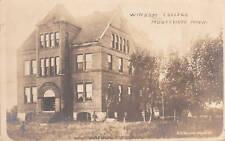 D9189 Mn, Montevideo Windom College Photo Postcard