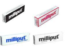 Milliput Model Sculpting Epoxy Putty Standard Silver Black White Blue