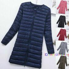 Woman Down Puffer Jacket Coat Autumn Winter Duck Down Ultra Light Quilted parka