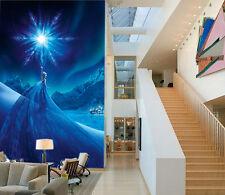 3D Frozen stars Queen 0475 Wall Paper Wall Print Decal Wall Deco AJ WALLPAPER
