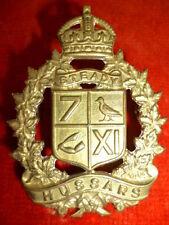 7th/11th Hussars Regiment Cap Badge KC - CANADA