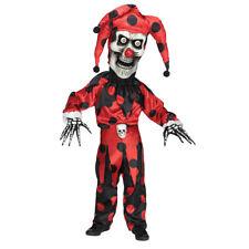Kids Bobble Head Evil Jester Halloween Costume