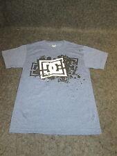 Hombre Auténtico DC Moda Informal skate bmx MX Camiseta S M L Xl Xxl Azul { 101