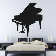 Grand Piano Musical Instrument Wall Art Sticker (AS10153)