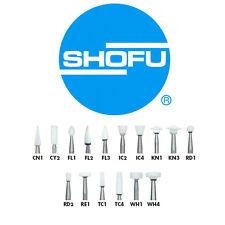 Shofu Dura-White Aluminum Oxide Finishing Stones 12pk (Your Choice)