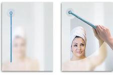 BATHROOM MIRROR WIPER Plastic Bathroom Wiper Blade Sticks Wipe Away Steam Gift