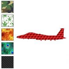Plane Jet Military Decal Sticker Choose Pattern + Size #2835