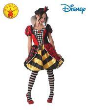RD 810248 Ladies Costume Fancy Dress Disney Alice in Wonderland Queen of Hearts