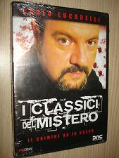 DVD CARLO LUCARELLI I CLASSICI DEL MISTERO IL CRIMINE VA IN SCENA