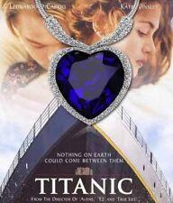Titanic Corazón de Océano COLLAR + colgante con Cristal Collar Estrás B