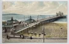 (w12d8-272) Grand Pier, WESTON SUPER MARE 1908 Used VG
