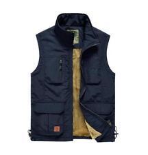 Men's outdoor photography fishing cotton vest jacket Casual plus vests waistcoat