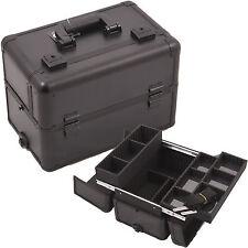Makeup Professional Storage Case Organizer Aluminum Cosmetic Brush Box Sunrise