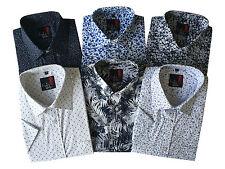 Mens Paisley Floral Aztec Hawaii Reg/Big Size Summer Short Sleeve shirts M-5XL