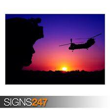 CH 46 Sea Knight cargo (4044) foto fotografia stampa poster art a0 a1 a2 a3 a4