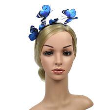 2er Damen Schmetterling Krone Haarreif Haarband Haarschmuck Fasching Kostüm