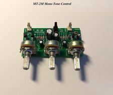 Mono/Stereo Volume Bass Treble Tone Control Pre Amp. MT-2 Single12-24Vdc DIY