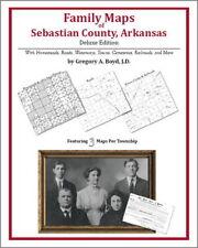 Family Maps Sebastian County Arkansas Genealogy AR Plat