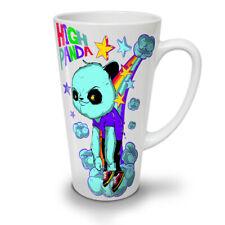 High Evil Panda China NEW White Tea Coffee Latte Mug 12 17 oz | Wellcoda