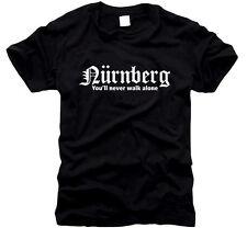 Nürnberg You'll never walk alone - T-Shirt, Gr. S bis XXXL