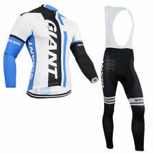 Uz-04 New Fashion outdoor long sleeve Men team cycling jersey,bib pants set 2016
