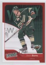 2011-12 Upper Deck Victory Red #95 Brent Burns Minnesota Wild Hockey Card
