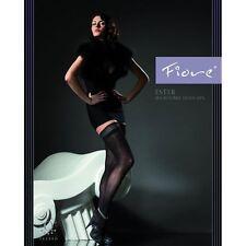 Bas jarretiere autofixant super sexy opaque référence Ester de la marque Fiore
