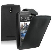 Piel Artificial Funda protectora de móvil con tapa para HTC Desire 500 / Dual