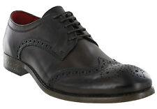 Marron Chaussures Brogues Base London Cuir Coniston 5 Œil Formel pour Hommes