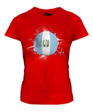 Guatemala fútbol Señoras Camiseta Camiseta Top Copa Mundial de regalo Sport