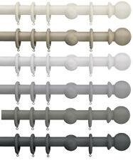 Swish Romantica Ball - 35mm Wooden Curtain Pole Sets