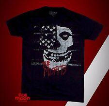 New Misfits Band Punk Rock Mens Retro Vintage T-Shirt