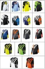 Bikit Moto Motocross Tout-Terrain Court Flexible Jersey