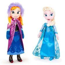 Peluche Disney La Reine des neiges ELSA + ANNA 25 cm ou lot de 2 peluches frozen