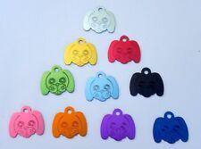 Médaille TOUTOU gravée pour animaux chien ou chat - 10 couleurs PM