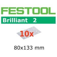 10 FESTOOL Schleifstreifen Brilliant2 80 x 133mm P40-P180 *492859-492862