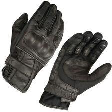 Akito Summer Breeze Leather Biker Breathable Cruiser Motorcycle Bike Glove - T