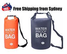 10L 20L Waterproof Drift Floating Canoe Camp Swimming Lightweight Dry Bag Sack