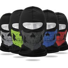 US Tactical CS Bicycle Ski Outdoor Sports Skull Balaclava Summer Full Face Mask