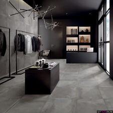 Spirit Dark Grey Matt Porcelain Tile Bathroom Kitichen Laundry Wall & Floor