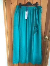 marks and spencer teal green full maxi skirt lined 8 10 14 16 bnwt long reg